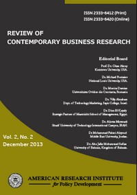 Rewiew of Contemporary Business Research
